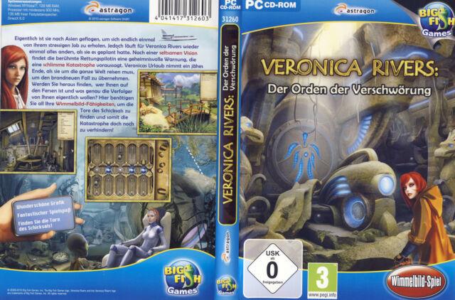 Veronica Rivers: Der Orden der Verschwörung * Wimmelbild-Spiel (PC, 2010, DVD-Bo