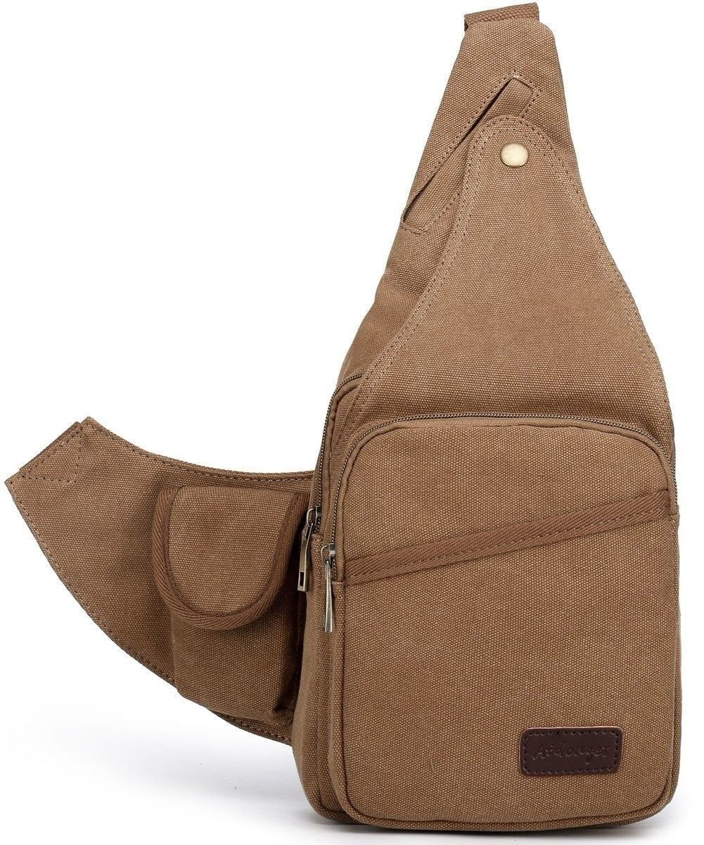 Aidonger  Sling Body Crossbag Satchel Men Women Tablet Bag High Density Canvas US  the lowest price
