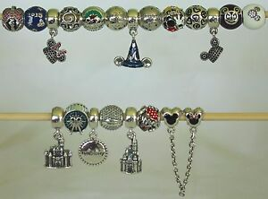 f3c45e797 Image is loading New-Disney-Pandora-Park-Exclusive-Charms-Bracelet-Sorcerer-