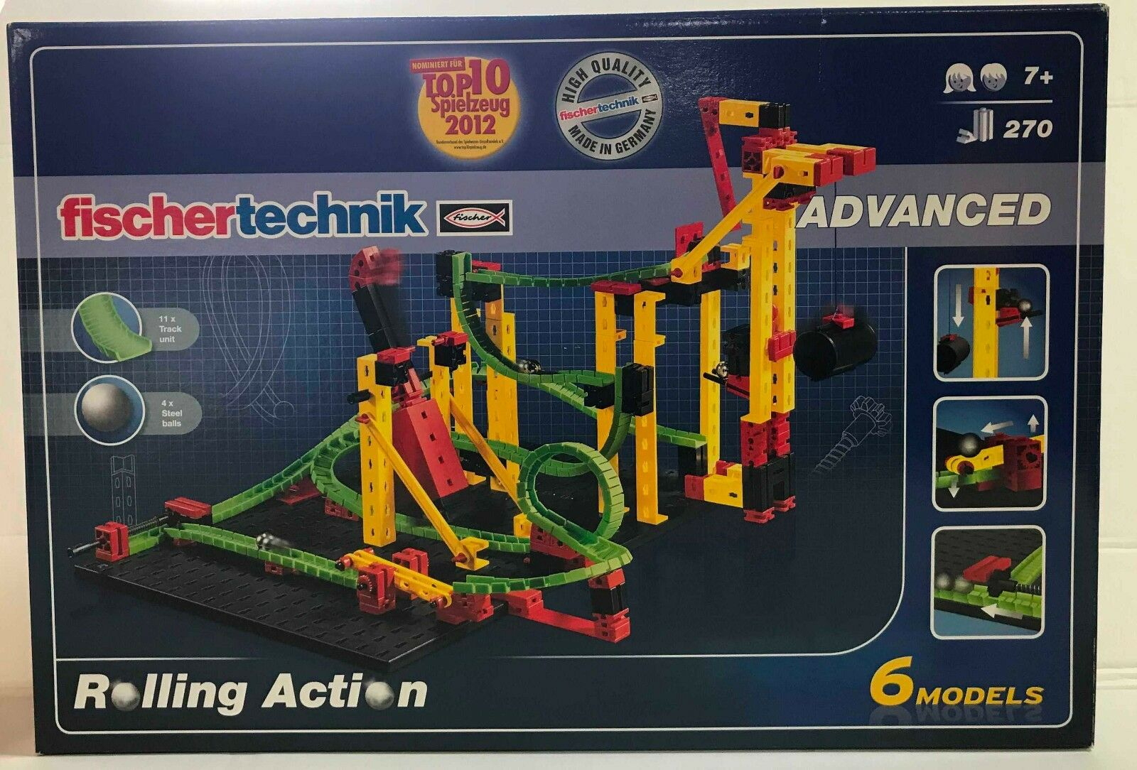 Fischertechnik 516183 - Rolling Action  Kugelbahn