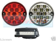 Land Rover Traseras Led Niebla invertir y número de matrícula lámparas luces actualización Rdx Wipac