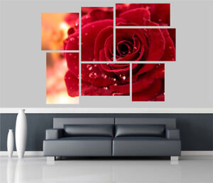 Red-Rose-Flowers-Removable-Self-Adhesive-Wall-Picture-Poster-1251
