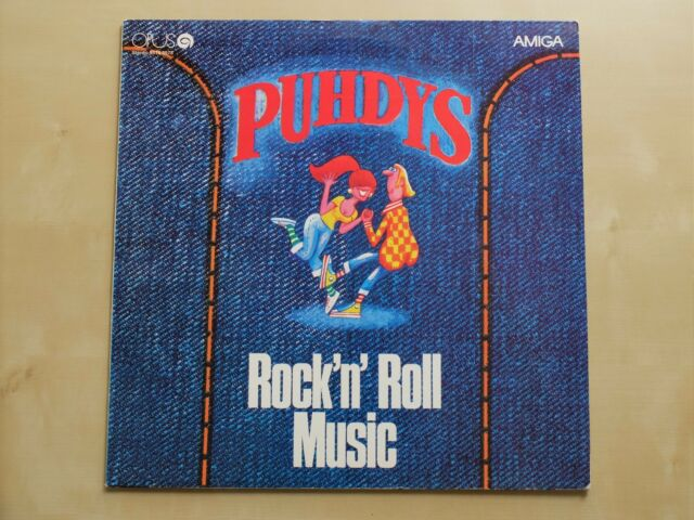 Puhdys_Rock'n'Roll Music_LP_Opus (Czech Edition)