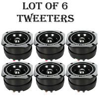 Lot Of (6) Pyle Pdbt45 Extra Heavy Duty Titanium Super Bullet Tweeters on sale