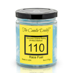 2cf710257106 Details about Race Fuel-Track- Scented Jar Candle-The Candle Daddy- Hand  Poured in Indiana