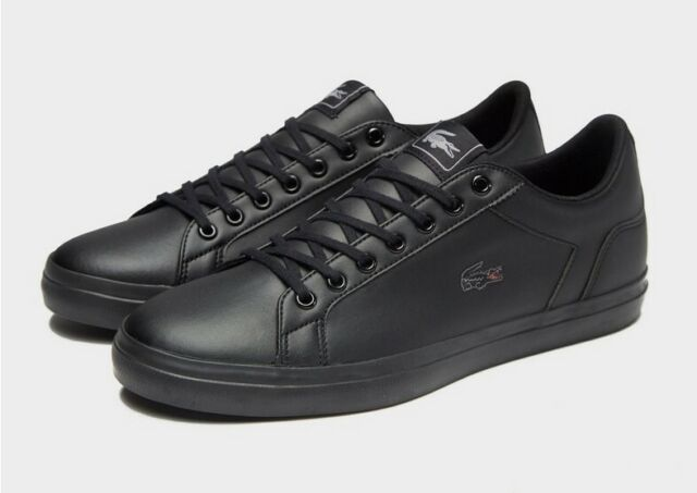 Lacoste Lerond S316 6 Black Leather