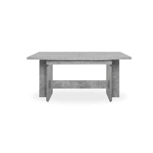 Auszugstisch Esstisch Kulissentisch ANCONA Beton grau ausziehbar 310 cm