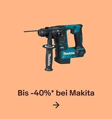 Bis -40%* bei Makita