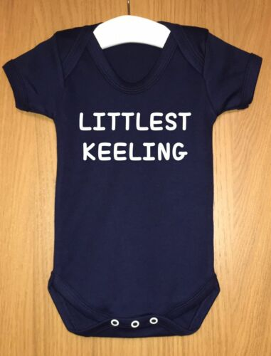 Littlest membre de la famille personnalisé bébé body gilet fille garçon idée cadeau