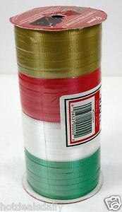 400' CLASSIC 4 COLORS HOLIDAY CURLING RIBBON DRESS UP YOUR ...