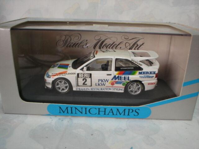 MINICHAMPS 1/43 FORD ESCORT COSWORTH DTT 1994 TEAM WOLF RACING W KRANKEMANN