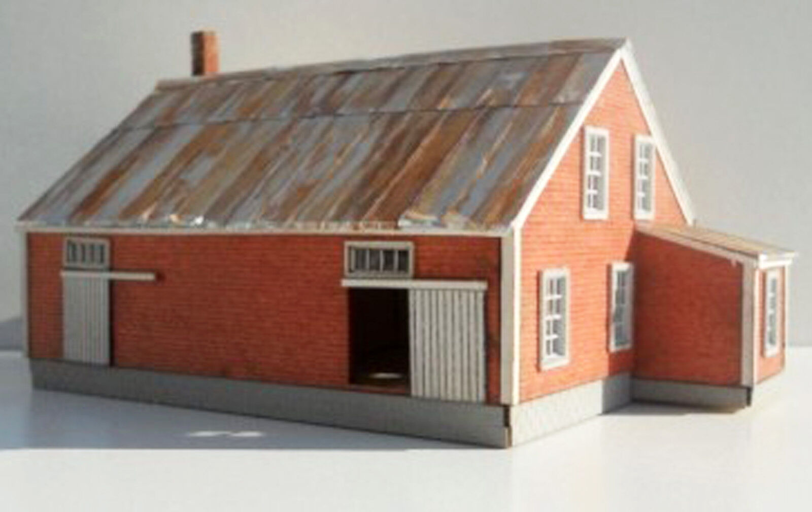 BARREL FACTORY N Scale Scale Scale Model Railroad Structure Unpainted Wood Laser Kit RSL3047 0a7d1f