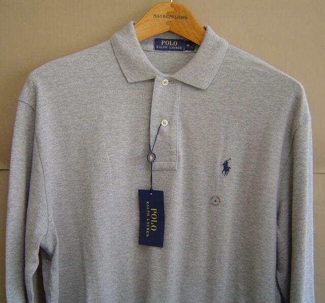 Andover Sleeve Ralph M Shirt Long Lauren Mesh Fit Heather Classic Polo k0OPnw