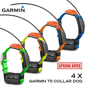 4-x-Garmin-T5-Astro-Collar-Dog-GPS-Tracking-Bundle-USED-NOT-TESTED-NZ