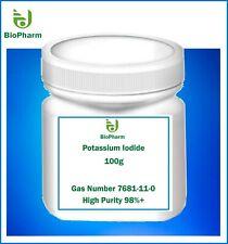 Potassium Iodide High Purity Crystals 998mg 100 Gm