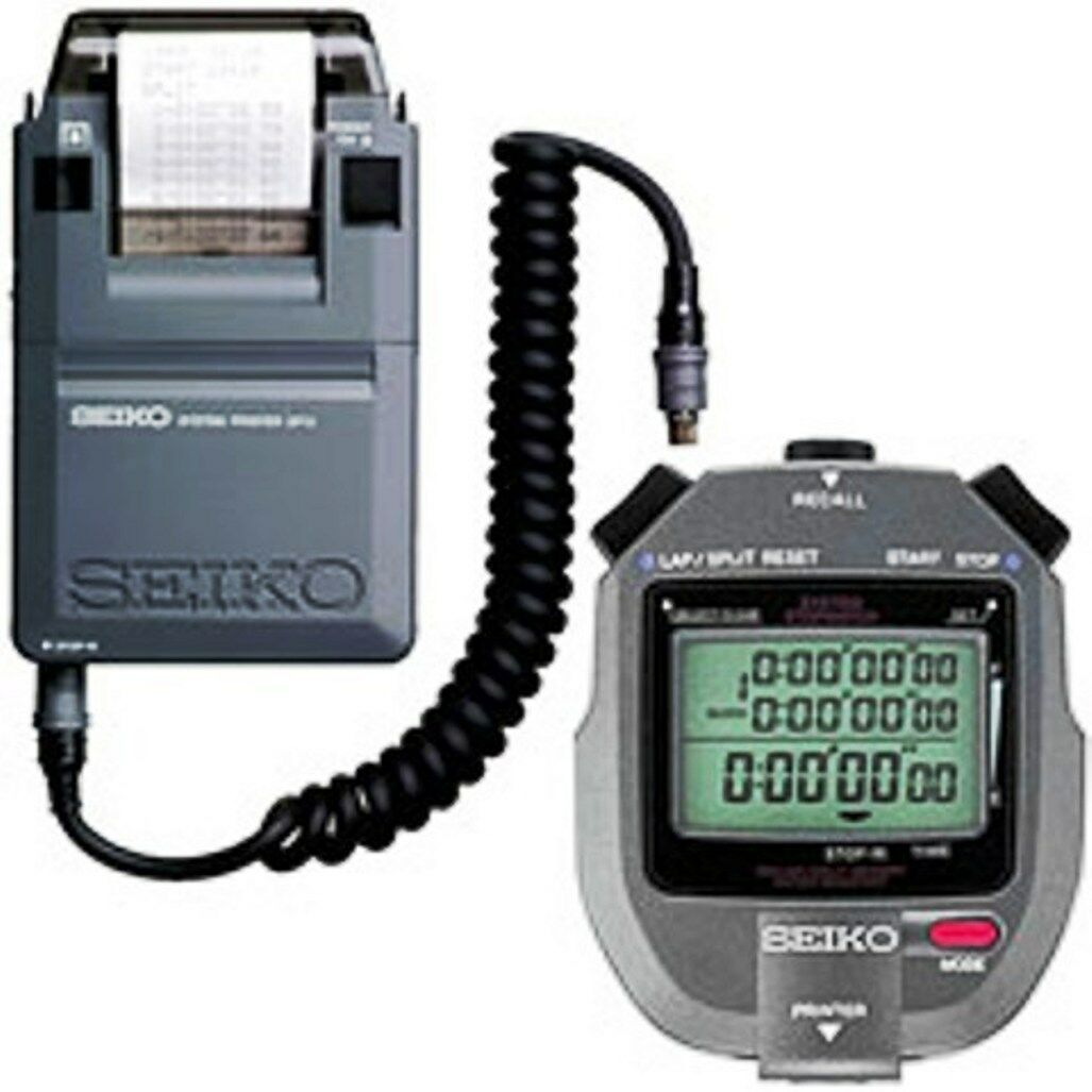 SEIKO S143 SET Printing Stopwatch Combines S143 & SP12