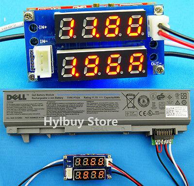 NEW Red Current Voltage Display  5V-30V 5A Step Down Module LED Panel Meter