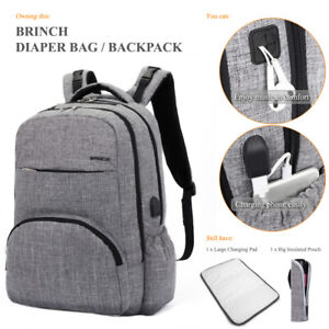 Details About Mummy Baby Ny Diaper Bag Insert Organizer Mom Dad Changing Backpack Handbag