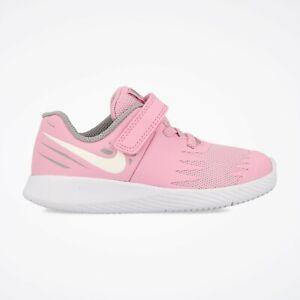 0b24ce6fcf32 Nike STAR RUNNER (TDV) Toddlers Pink Rise White 907256-602 Hook ...