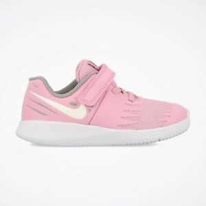 Nike STAR RUNNER (TDV) Toddlers Pink Rise White 907256-602 Hook ... be88107ca