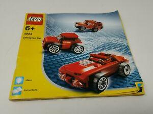 Lego-4883-Designer-Set-Instruction-Manuel