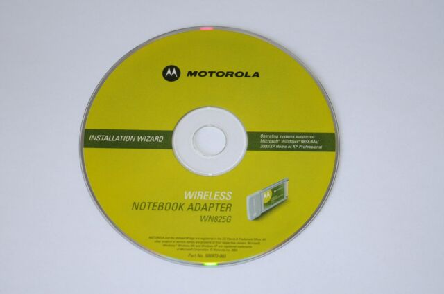 MOTOROLA WN825GP DRIVER FOR WINDOWS 10
