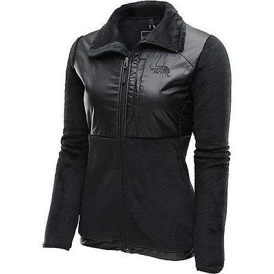 The North Face Womens Luxe Denali Jackets Fleece Coat Black S-XL NEW