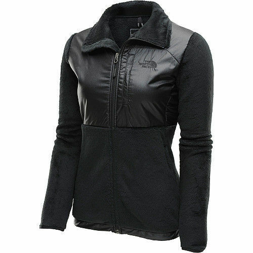 The North Face Womens Luxe Denali Jacket Fleece Coat Black S-XL NEW