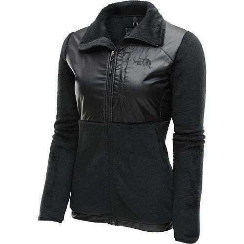 35f6c0757 The North Face Womens Luxe Denali Jacket Fleece Coat Black S-XL NEW