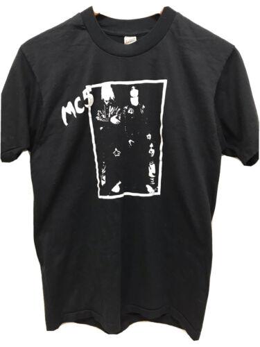 Vintage 80s MC5 Shirt Sonics Rendezvous Iggy Stoog