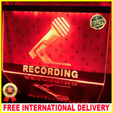 J253R EAW Home Audio Theater For Recording Studio Display Decor Light Sign