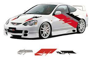 Car Graphics Vehicle Vinyl Graphics Decals Vehicle - Vinyl graphics for a car