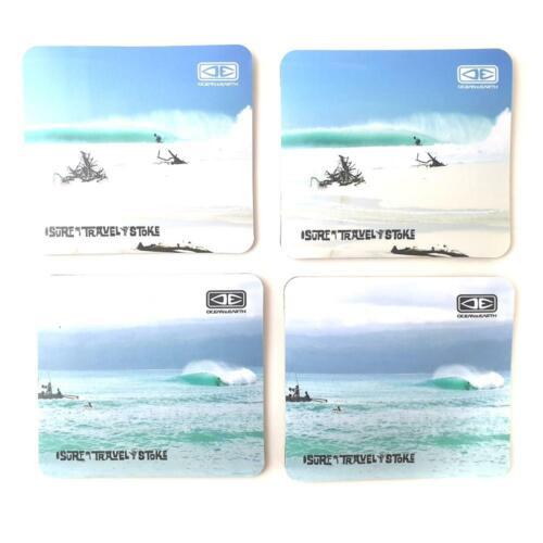 4 x Coasters In Pack Ocean /& Earth Drinks Coasters// Beer Mats