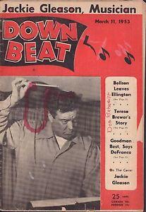 Down-Beat-March-11-1953-Jackie-Gleason-Teresa-Brewer-Gd-081016DBE