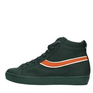 ... KV464-Scarpe-Sneakers-LEATHER-CROWN-uomo-Verde ee1e052d402