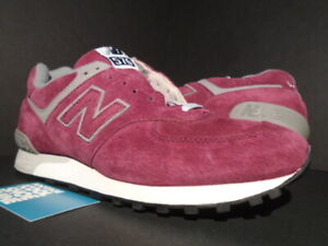 pretty nice 37907 b7100 Details about 1998 ORIGINAL OG NEW BALANCE 576 SALES SAMPLE MAROON GREY OFF  WHITE BLACK PINK 9