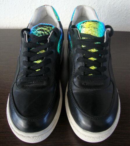37 Sport Leder Sneakers Black Damen Ash Fashion Gr Neu Fool Leather Schuhe pqnSxgv