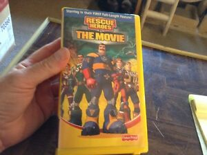 rescue heroes quotthe moviequot vhs tape ebay