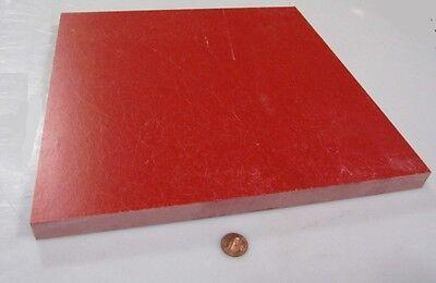"""GPO3 Electrical Red Fiberglass Sheet 1//4/"""" Thick x 12.0/"""" Wide x 24.0/"""" Long"""