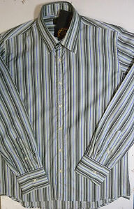 BRAND-NEW-MENS-NICHOLAS-DEAKINS-SLIM-FIT-CASUAL-FORMAL-STRIPED-SHIRT-RRP-60