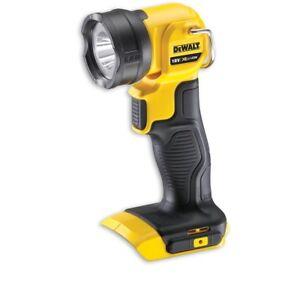 Dewalt-DCL040-18v-Cordless-XR-Li-Ion-LED-Hand-Torch-Spot-Flash-Light-Bare-Unit