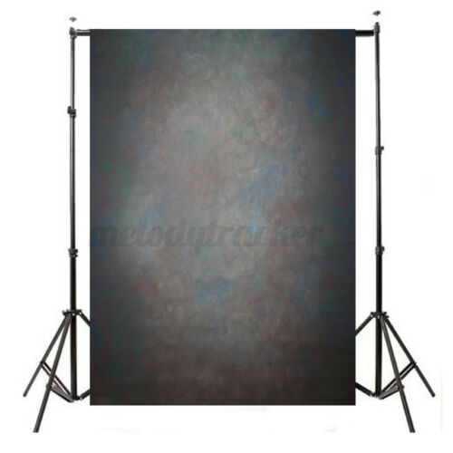 5x7FT Retro Studio Photo Photography Backdrops Black Grey Background Props UK