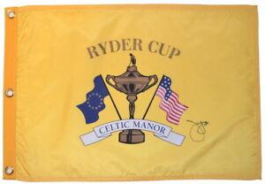 2010-RYDER-CUP-Celtic-Manor-JIM-FURYK-SIGNED-Screen-Print-GOLF-FLAG