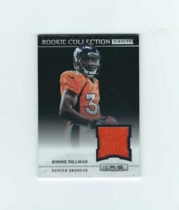 Details about 2012 Rookies and Stars Rookie Collection Jerseys #29 Ronnie Hillman Broncos