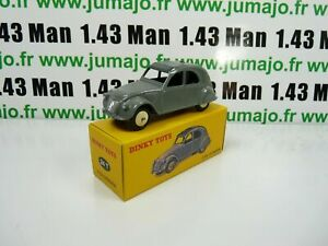 Voiture-1-43-reedition-DINKY-TOYS-atlas-24T-CITROEN-2CV-gris-coffret