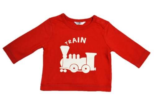 Mini boden garçons//bébé coton motif chemise à manches longues dinosaure elephant train