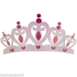 Image Is Loading Pink Metal Crown Wall Decor Over The Bed