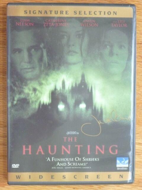 The Haunting DVD Horror Movie Liam Neeson Catherine Zeta ...