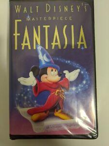 Walt Disney S Masterpiece Black Diamond Fantasia Vhs 1991 Rare Collectible Ebay