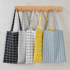 Canvas-Shopping-Handbag-Shoulder-Tote-Satchel-Eco-Messenger-Bag-Star-Square-bags